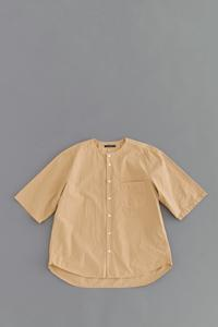AYATAH Typewriter Cloth 5/10 No Color Shirts (Beige) - un.regard.moderne