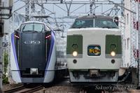 新旧の出会い「あずさ」と「かいじ」 - sakuoのフォトブログ