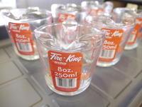 Fire-King MESURING JUG 8oz,250ml入荷しました! - GLASS ONION'S BLOG