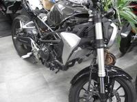 CB250Rのオイル漏れ - バイクの横輪