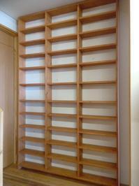 CD・DVD収納棚 - woodworks 季の木  日々を愉しむ無垢の家具と小物