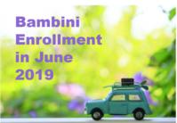 病児保育室Bambini 6月入会・登録の日程のお知らせ - 十六山病児保育室Bambini