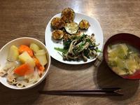 娘の夕飯とカーネーション - ねこちんの日常