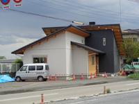モデルハウス5号店③(左官工事、仕上げ) - ㈱栃毛木材工業
