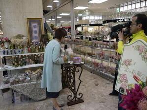 百貨店川徳・1日目はテレビ・新聞社に取り上げていただきました -
