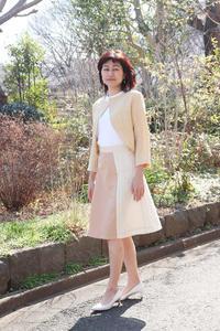 八重山グンボウ スカート for spring (1963) - natural essence : EKO PROJECT