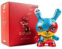 """Good 4 Nothing 8"""" Dunny by 64 Colors - 下呂温泉 留之助商店 入荷新着情報"""