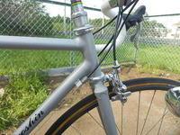 ラグレス仕様のフレームを使ってロード。 - 自転車で遊んでみよう