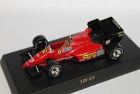 1/64 Kyosho Ferrari F1 126 C4 1984 - 1/87 SCHUCO & 1/64 KYOSHO ミニカーコレクション byまさーる