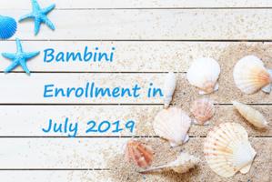7月の病児保育室 説明・登録会のご案内 - 十六山病児保育室Bambini