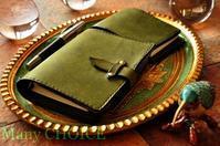 イタリアンレザー・プエブロ・システム手帳とロディアメモ帳カバー・時を刻む革小物 - 時を刻む革小物 Many CHOICE~ 使い手と共に生きるタンニン鞣しの革