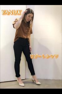 「YANUK ヤヌーク」リゾートシャツ・クロップドシャツ入荷です。 - UNIQUE SECOND BLOG