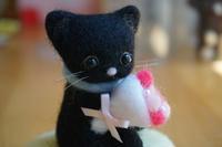 どこかで出会ったような猫 - ようこそ、こぐま手芸店へ゜・。