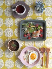 ハヤシライス朝ごはん - 陶器通販・益子焼 雑貨手作り陶器のサイトショップ 木のねのブログ