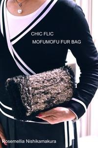 Chicflic tweed  shoulder bag - ローズメリア西鎌倉/パリ花レッスン&旬のバッグレッスン教室<CHICFLIC Leviosa japan Coquette.715認定講師>
