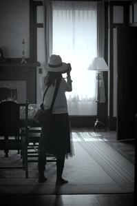 5月の光 - 片眼を閉じて見る世界には・・・。