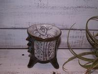 足つきフリーカップ・ビアカップ通販shopへ! - 織月紅希の真っ赤な月窯ギャラリー
