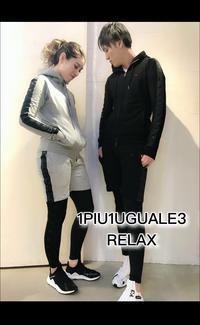 1PIU1UGUALE3 RELAX(ウノピゥウノウグァーレトレ リラックス)×Kappa(カッパ)スペシャルコラボスウェットシリーズ入荷です。 - UNIQUE SECOND BLOG