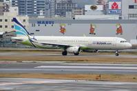 出張で福岡へ その4 ラウンジで撮影した飛行機(1) - 南の島の飛行機日記