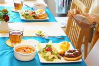 ドーナツレッスンレポート -  川崎市のお料理教室 *おいしい table*        家庭で簡単おもてなし♪