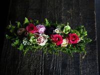 母の日のブリキコンテナアレンジメント。「ピンク系」。2019/05/12。 - 札幌 花屋 meLL flowers