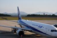 広島空港で流し撮り - できる限り心をこめて・・Ⅲ