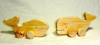 海モノいろいろ木のくるま - 布と木と革FHMO-DESIGNS(エフエッチエムオーデザインズ)Favorite Hand Made Original Designs