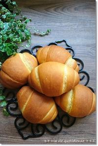 南瓜のロールパンとアタチのヘアバンド取らないで~! - 素敵な日々ログ+ la vie quotidienne +