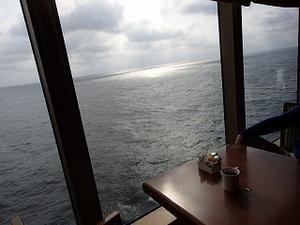 2019年クイーン・エリザベス乗船記 (7)洋上-2 - クルーズとパリ旅行