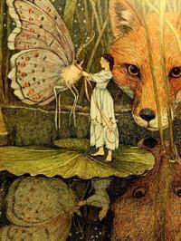 Susan Jeffers画の「おやゆびひめ」 - Books