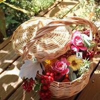 松屋銀座One day「小林亮子のフラワーアレンジメント講座」 - Bouquets_ryoko