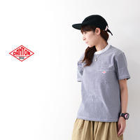 DANTON [ダントン] W's 紡天竺 POCKET BORDER T [JD-9041] ポケットTシャツ・コットンTシャツ・ボーダー・LADY'S - refalt blog