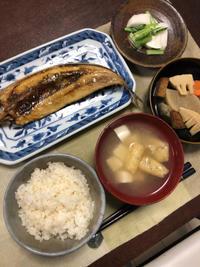 サンマの干物 - 庶民のショボい食卓
