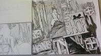 色街看板執筆中 - HIRAKAWA JUN 平川 準