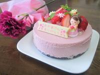母の日ケーキとピタヤスムージー - candy&sarry&・・・2