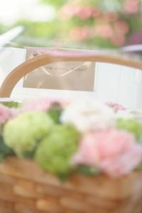 母の日 その①・・・娘たちからもらったカーネーションアレンジ - Reon with LR & Roses