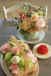 母の日 その②・・・もらったお花たち全員集合 - Reon with LR & Roses
