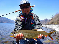 TEALフライフィッシングツアーIN 中禅寺湖 - Fly Fishing Total Support.TEAL