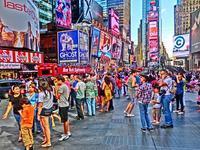 ニューヨーク (15) タイムズスクエア - 5 - 多分駄文のオジサン旅日記 2.0