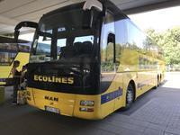 バルト3国の旅2018(9)ヴィリニュスーリガをバスで移動 - 本日の中・東欧