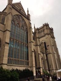 荘厳な教会でのビバルディ前編Gloria - しんしな亭 in シンシナティ ブログ