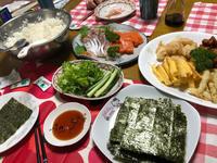 母の日手巻き寿司 - 日だまりカフェ