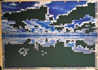 ウユニ塩湖-ボリビア:5日目 - ジグソーパズル(世界最小ピース)