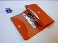 ミニ財布指が届きやすいちょっとそこまで - 革小物 paddy の作品