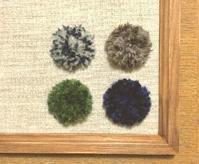 ウールのブローチ - 空飛ぶ絨毯