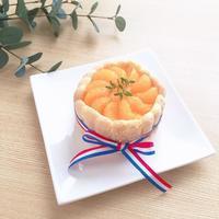 みかんでシャルロットケーキ - Sweets Studio Floretta* Flower Cake & Sweets Class@SHIGA