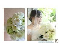 コンセプト:「優しくてラグジュアリーなウエディング」 - Bouquets_ryoko