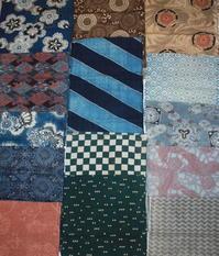 古布木綿型染Japanese Antique Textile Katazome - 京都から古布のご紹介