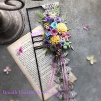 ベーシッククラス6期生vol.2 アイアンフレームアレンジ - 花雑貨店 Breath Garden *kiko's  diary*