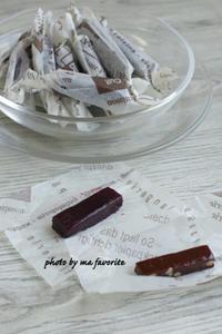 チョコレートとカシスのキャラメル - 名古屋のお菓子教室 ma favorite